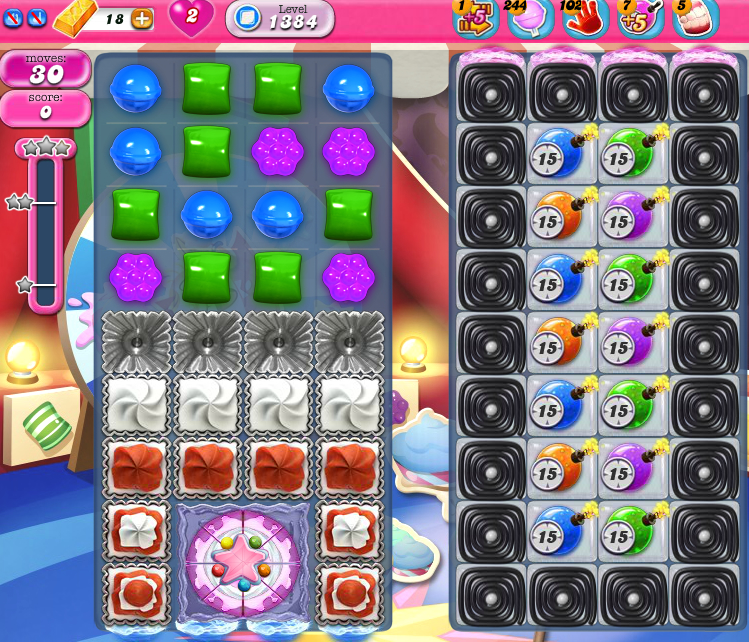 Candy Crush Saga 1384