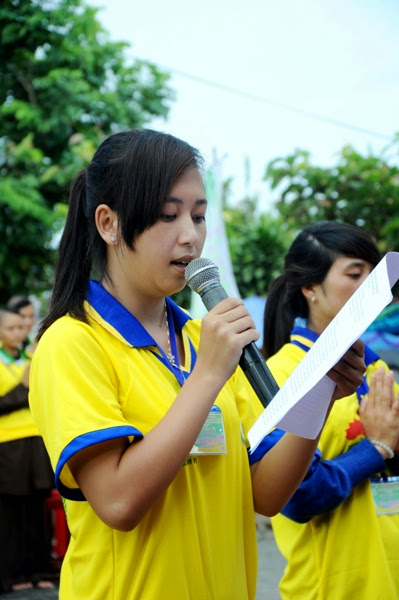 Khóa tu mùa Hè Chùa Hoa Quang Huyện ĐăkSong 06