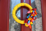 And now you have a cute balloon wreath, perfect for an Up! birthday.or any . (img )