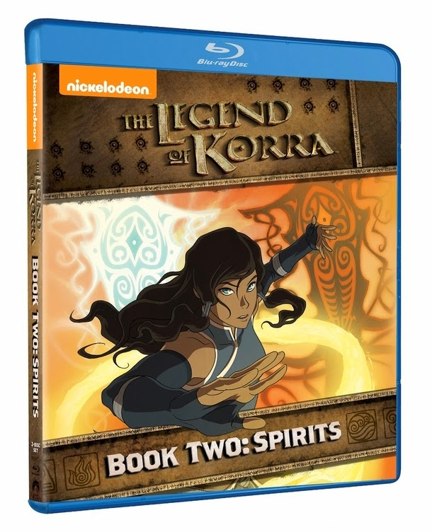 Legend of Korra Book 2 Blu-Ray