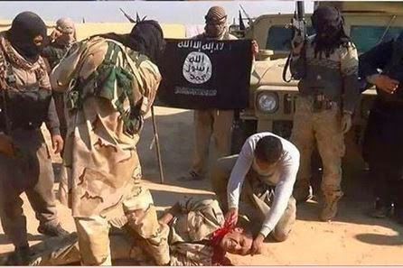 The Rise of ISIS Beheading+iraqi+soldier