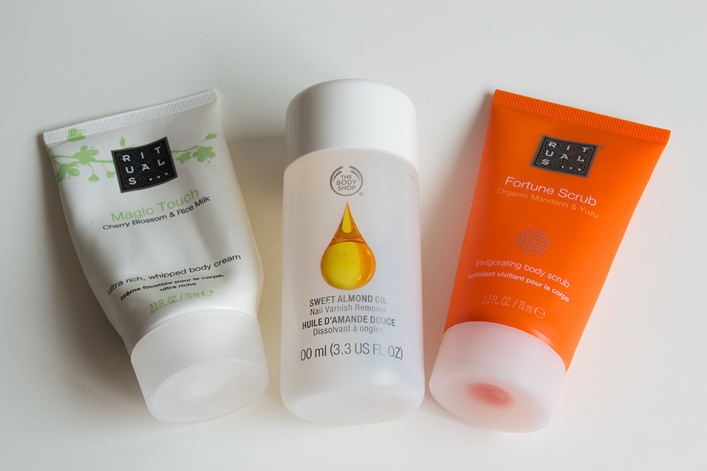 Empties 18, Rituals, The Body Shop