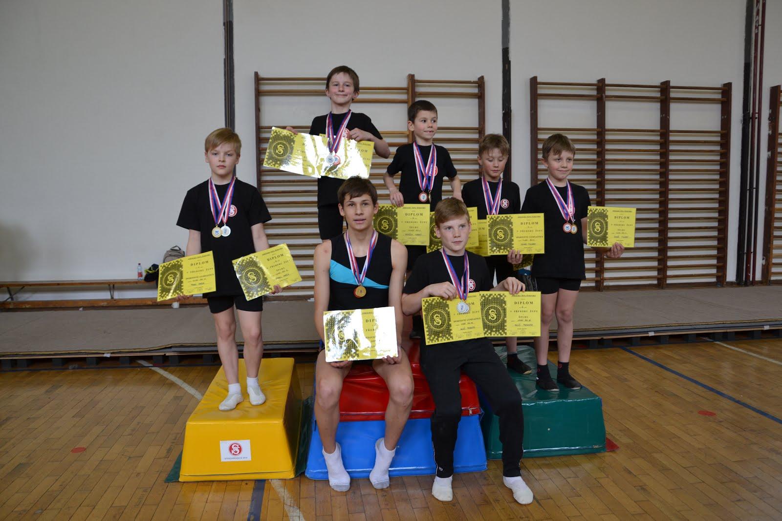 Přebor župy v Gymnastice 2016
