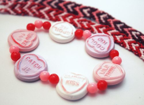 Valentine's Heart Bracelets