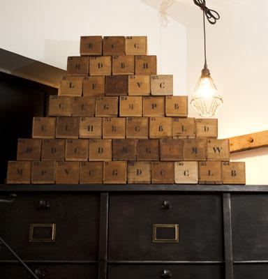 vintage Wood Box