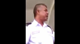 Isteri Mat Yo Marahkan Pak Guard.. Betul ke????