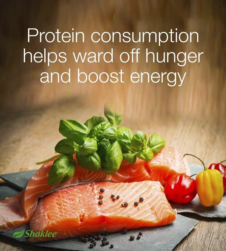 Protein mengelakkan cepat lapar dan memberikan tenaga