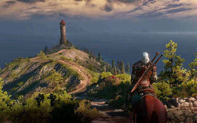 witcher 3 world graphics