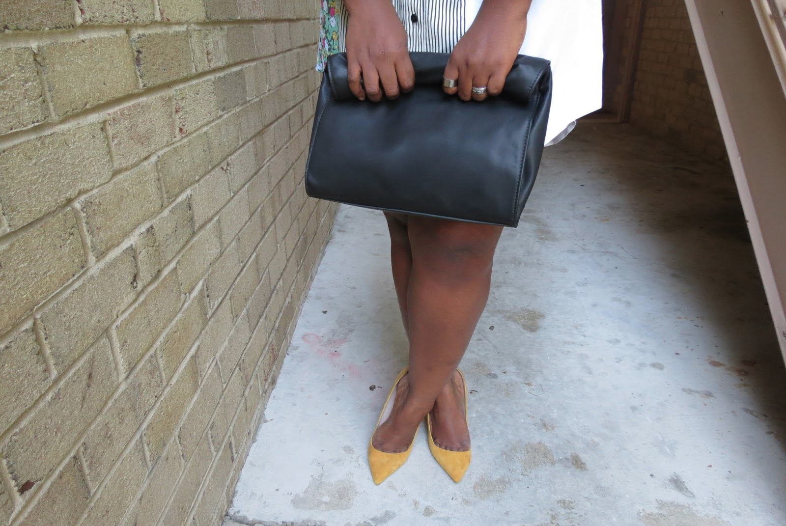 supplechic, zara bag and shoemint pumps