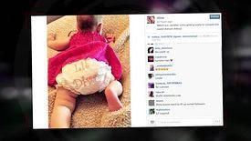 Christina Aguilera présente sa fille sur les réseaux sociaux