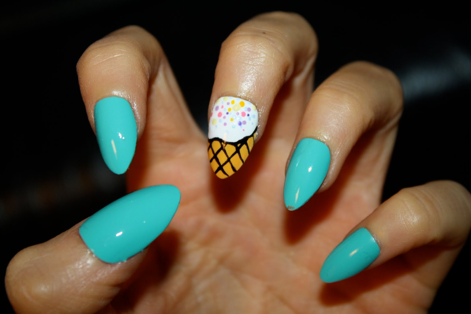  Ice Cream Shade   Funny manicure ideas for special people