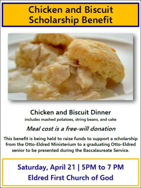 4-21 Chicken & Biscuit Dinner, Eldred