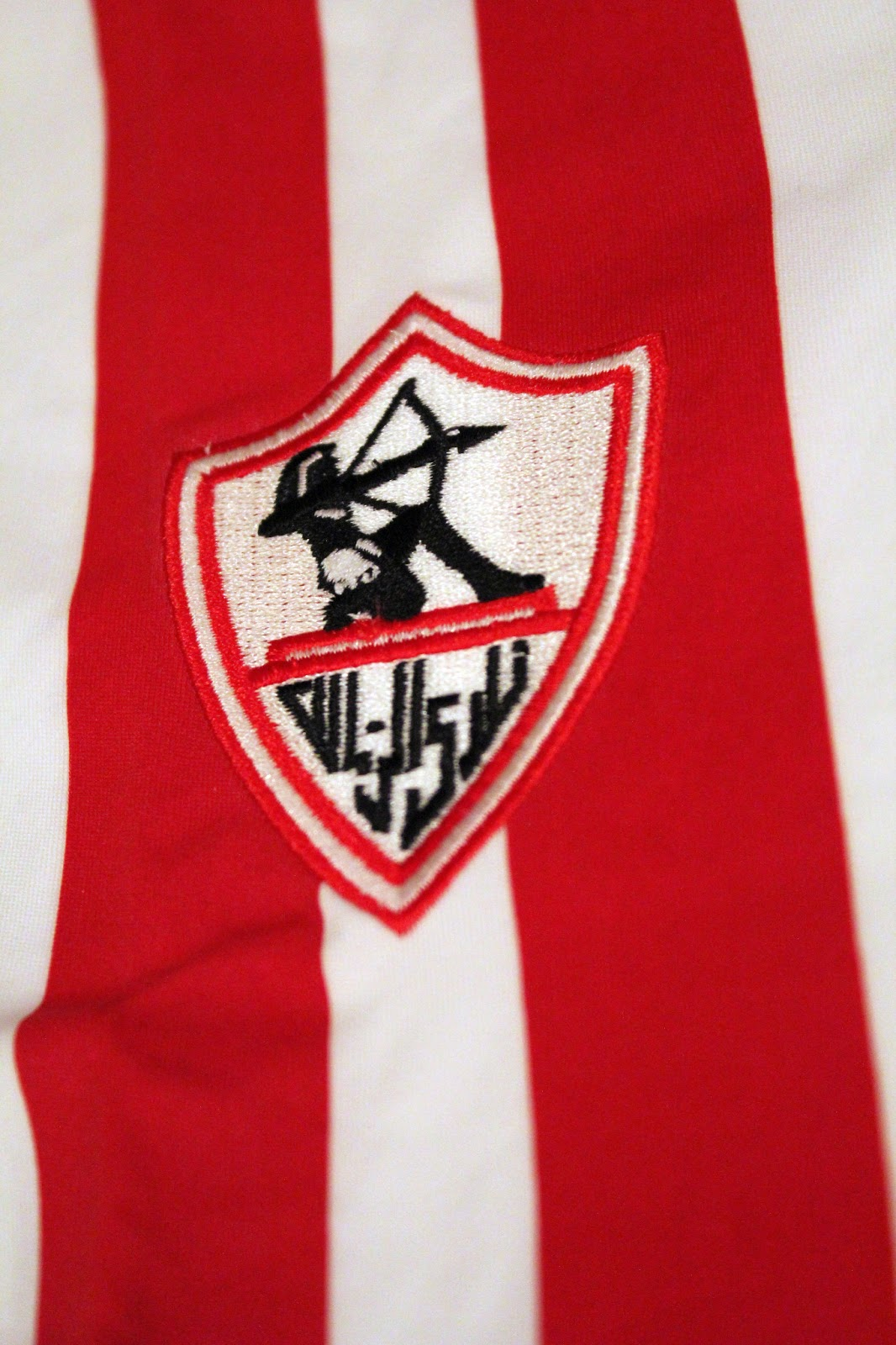zamalek s crest detail at the back of the shirt zamalek sporting club ...
