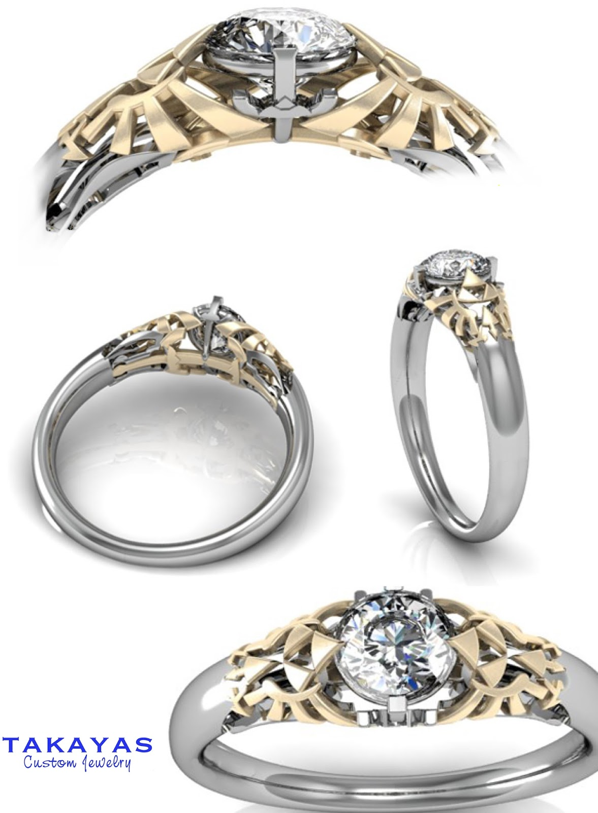Ring For Mothers With Kids Birthstoes