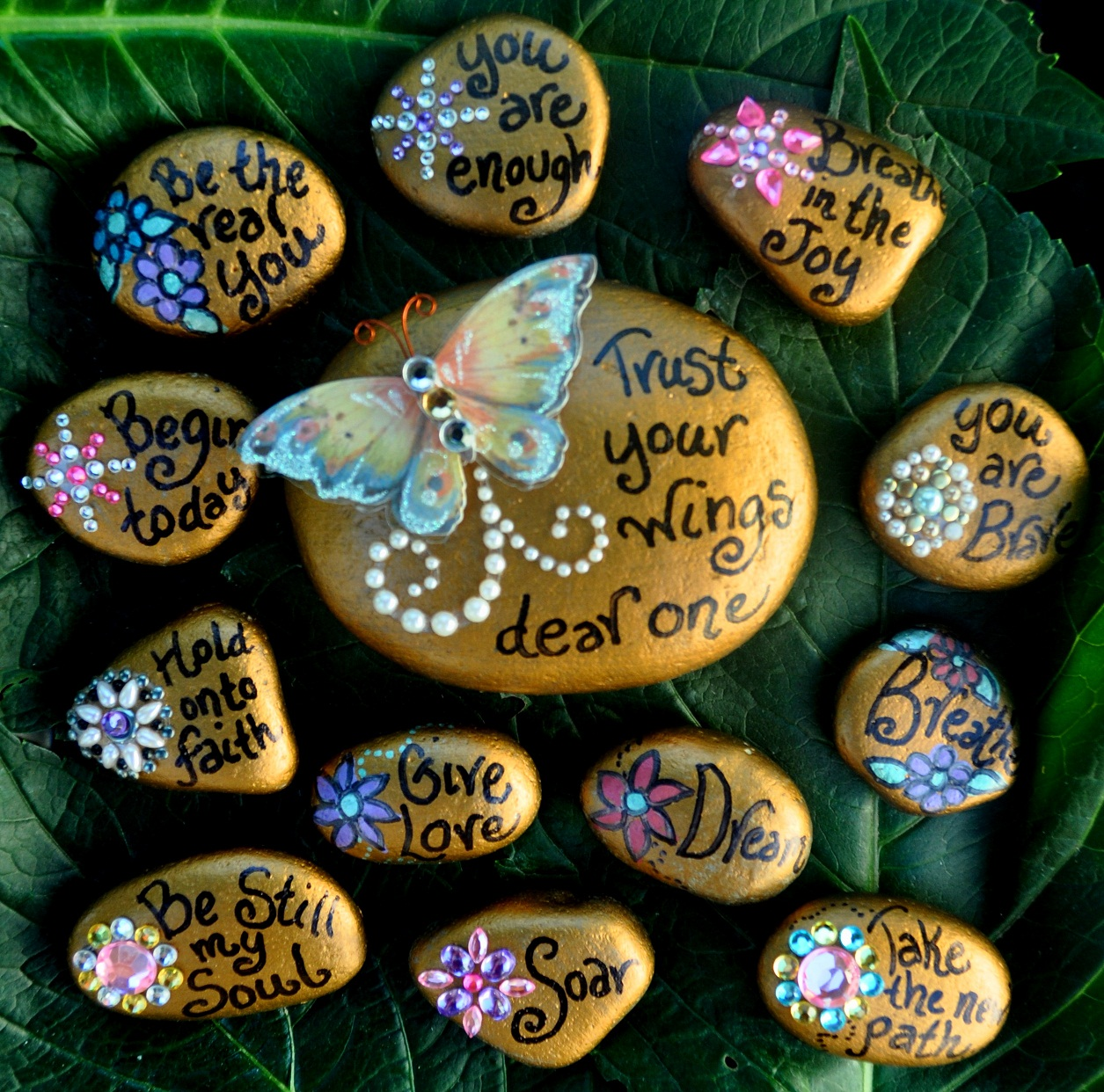 healing expressions art blessing giveaway soul stones