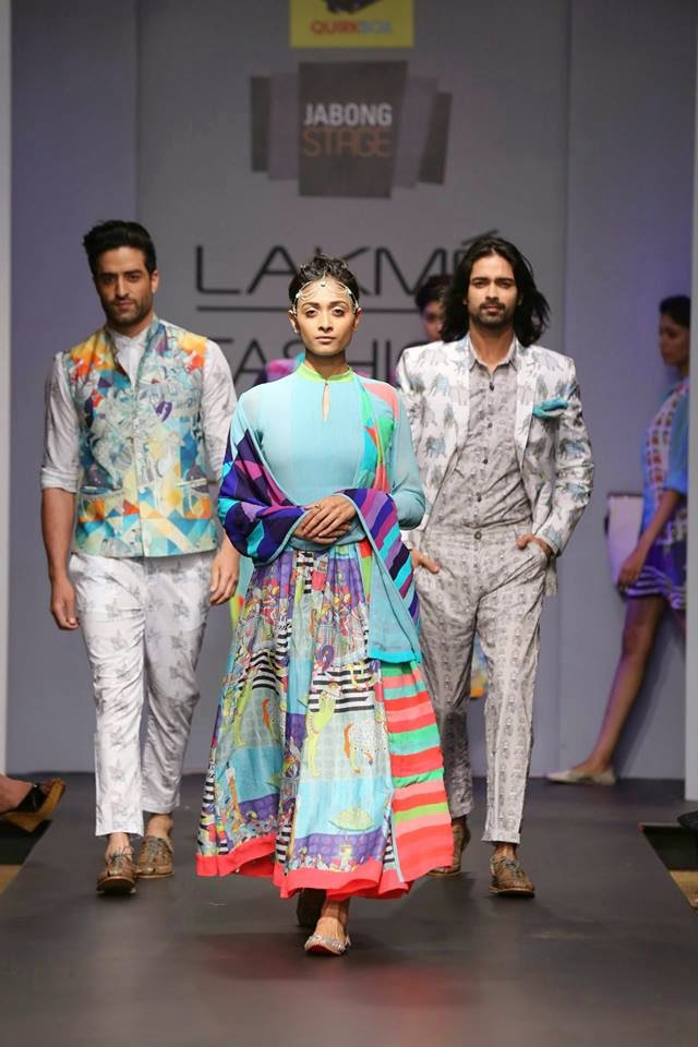 Lakme Fashion Week: Quirk-e-Sultanat By QuirkBox image