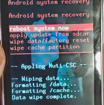 Cara Hard Reset Samsung Galaxy Y S5369