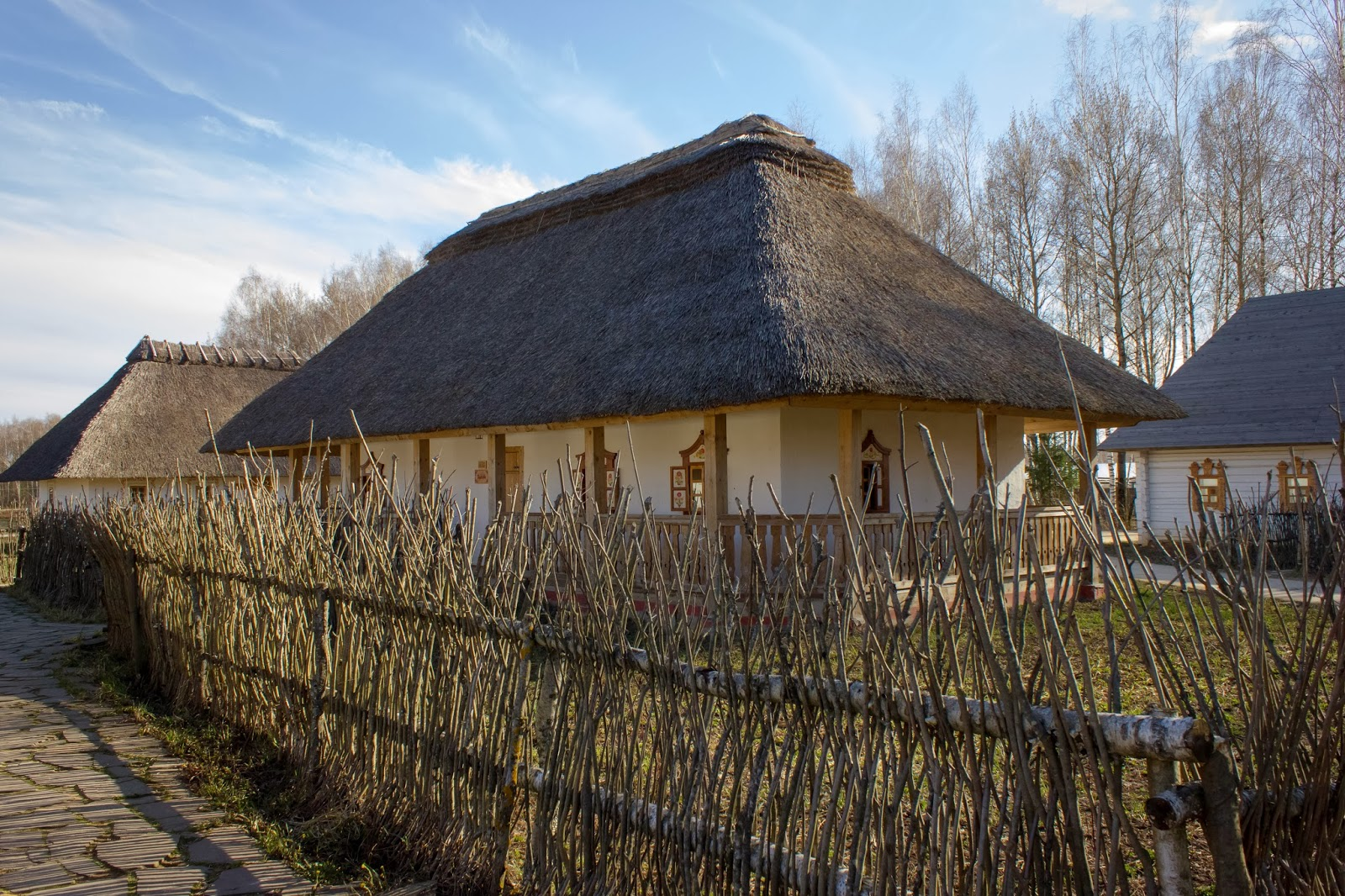 Калуга, Калужская область, Этномир, Забор