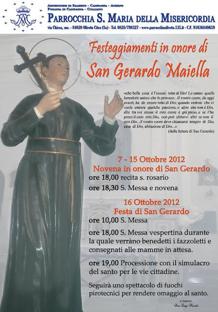 FESTA DI SAN GERARDO MAIELLA