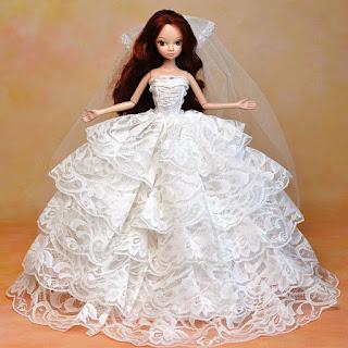 Gaun Pengantin Barbie Terbaru