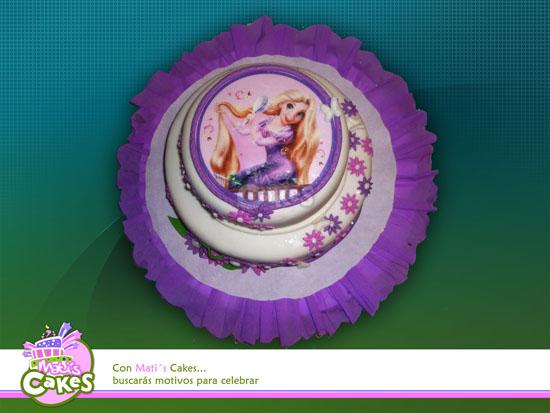 Torta de rapunzel - Imagui