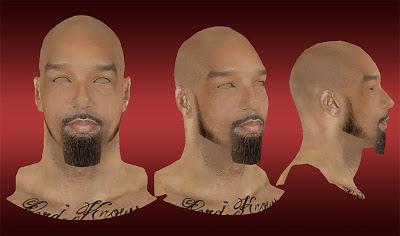 NBA 2K13 Drew Gooden Cyberface Mod