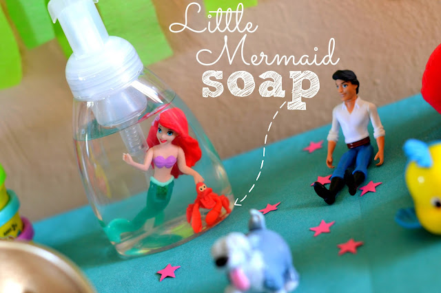 Mommy Testers DIY Little Mermaid soap #DisneyPrincessPlay #shop #cbias