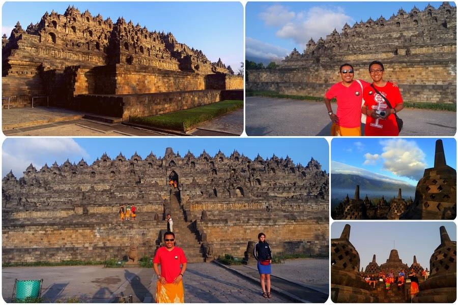 Pagi Dari Candi Borobudur
