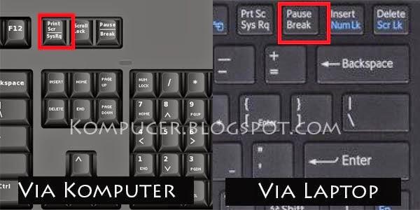 Cara Mengambil Gambar Pada Layar Komputer