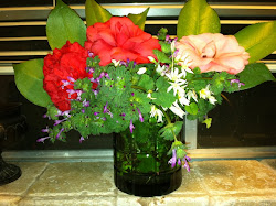 Birthday Flowers.....from the yard!