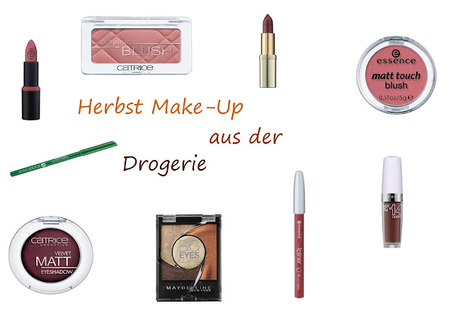 Herbst Make-Up Trends aus der Drogerie 2015