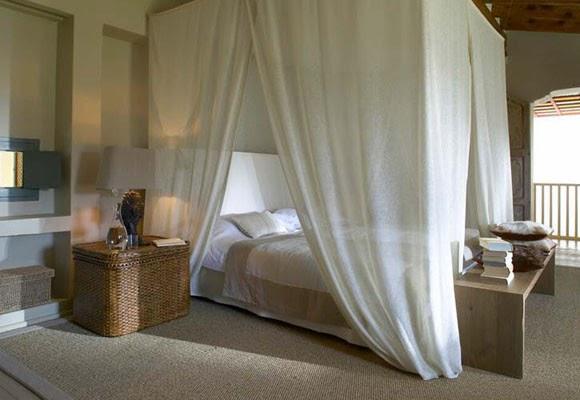 Vintage home camas con dosel prefieres con cortinas o for Camas con cortinas