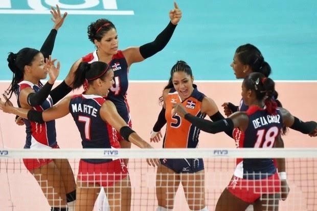 El segundo turno de la tercera jornada del Mundial de voleibol femenino Italia 2014 ofreció una angustiosa victoria de la República Dominicana contra Croacia (3-2) y la tercera derrota seguida de Cuba, hoy frente a Japón.