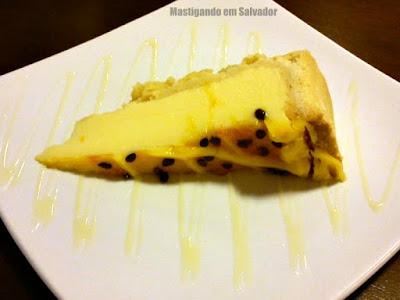 Doce Incanto Café & Torteria: Torta gelada de Maracujá