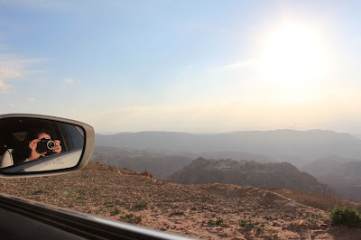 Driving through Jordan