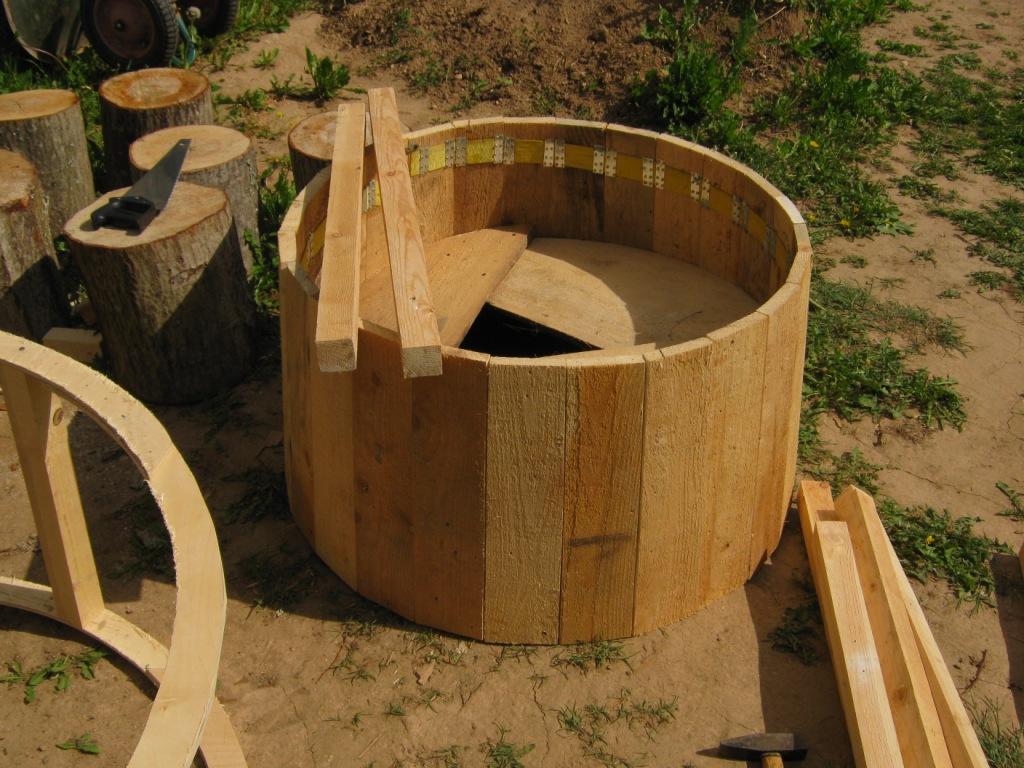 Квадратная опалубка для колодца своими руками 49