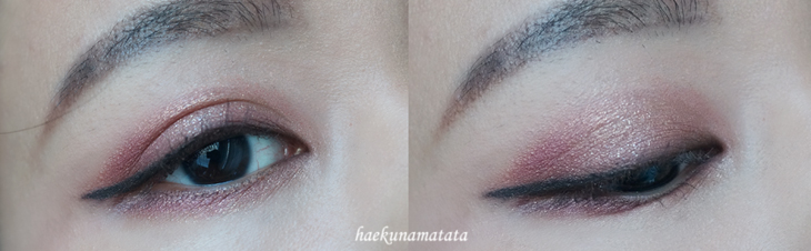 Natural Vampy Makeup Tutorial using MAC Cranberry Laura Mercier Primrose