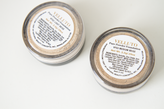 Photo of Hynt Beauty Velluto Foundation in Light Beige and Medium Beige.