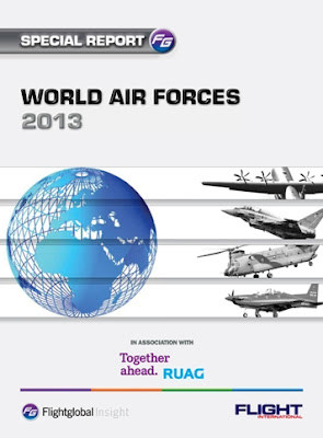 Kekuatan Dirgantara Indonesia Dalam Flight Global World Air Forces 2013