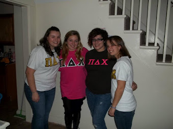 My Pledge Sister and our moms!!