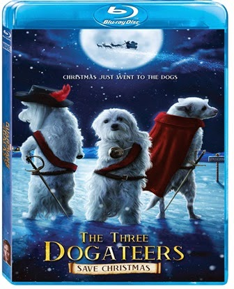 The Three Dogateers 2014 Dual Audio 720p BRRip 700mb