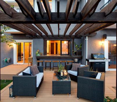 Fotos de techos estructuras de madera para techos - Estructuras de madera para terrazas ...