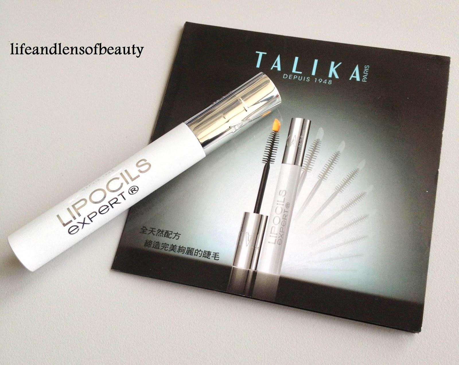 Lifeandlensofbeauty Talika Lipocils Expert Eyelash Conditioning Gel