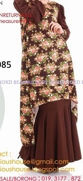 NBH0134 HANIRA FISHTAIL (NURSING & MATERNITY FRIENDLY)