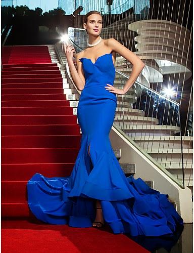 Vestido de Gala de Gasa inspirado por Rosci Diaz Emmy
