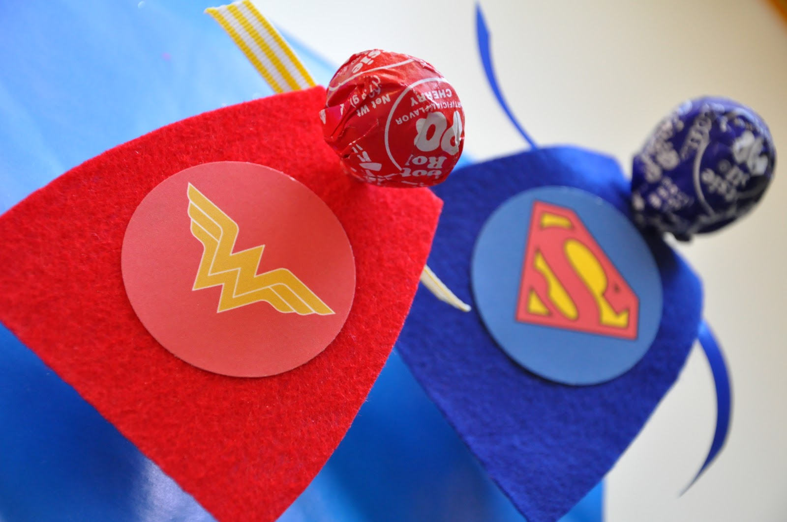 Little bit funky 20 minute crafter superhero valentines for Superhero lollipop cape template