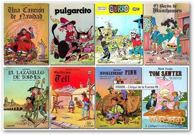 Chiqui de la Fuente. 20 Comics [CBR | Español | 477.57 MB]