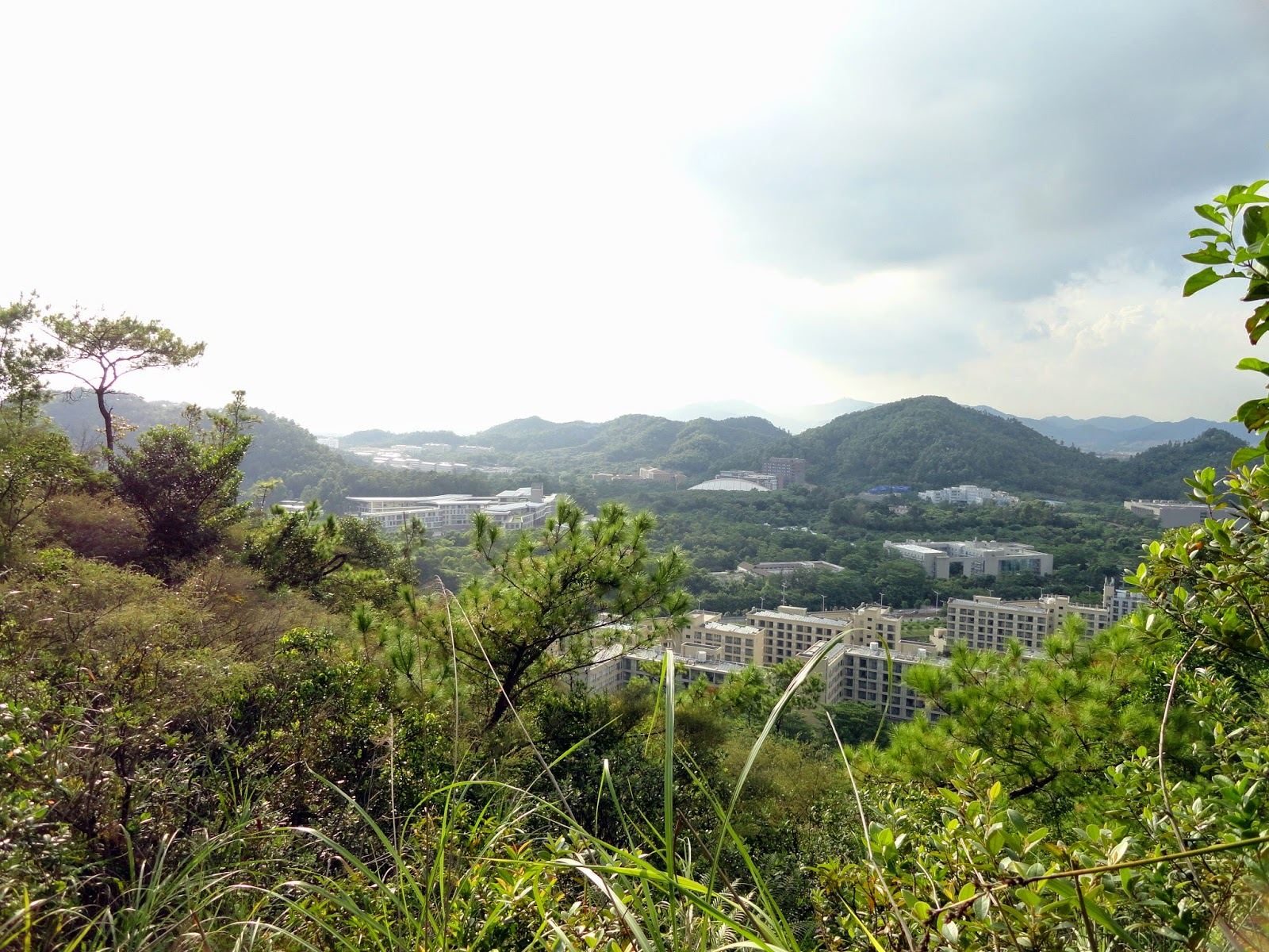 Hiking Mountains in ZhuHai