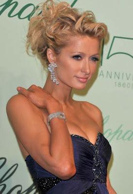 Paris Hilton Diamond Chandelier Earrings