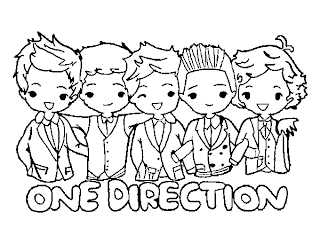 dibujos de one direction
